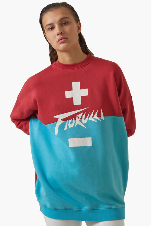 High Voltage Oversized Sweatshirt