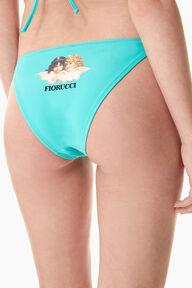 Angels Bikini Bottom Turquoise