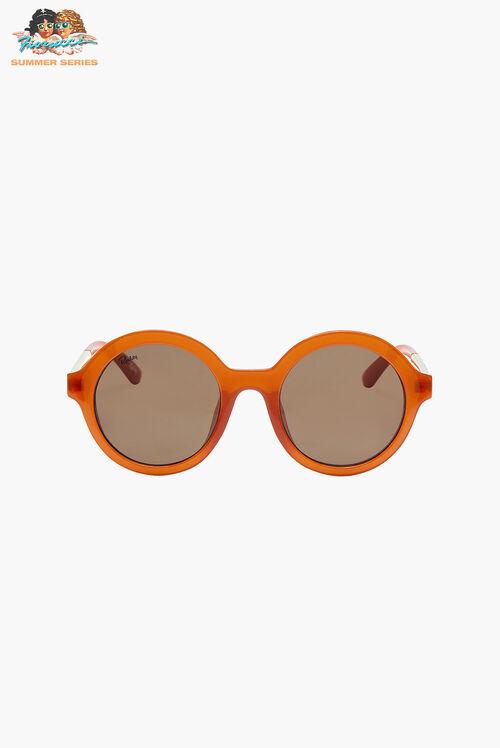 Reality Eyewear Mind Bomb Ochre Sunglasses