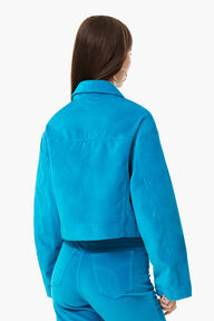 Berty Velvet Jacket Blue
