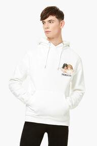 Angels Logo Hoodie White
