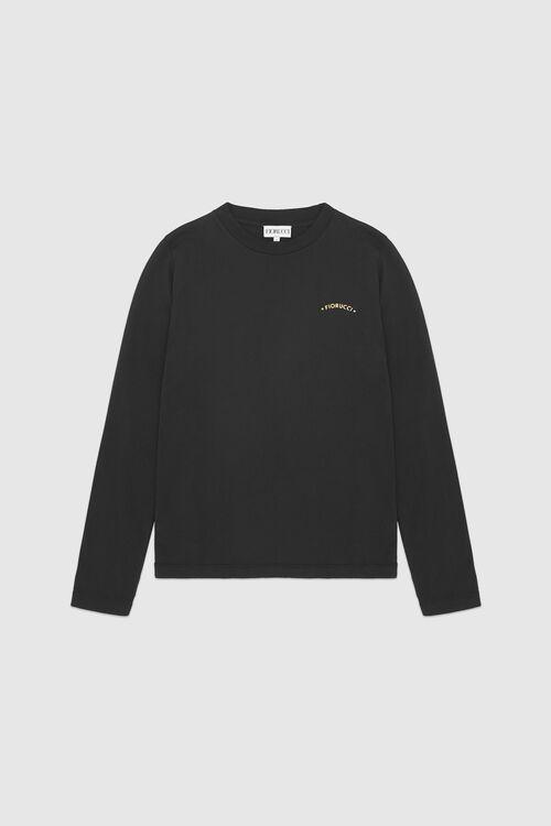 Star Emblem Long Sleeve T-Shirt