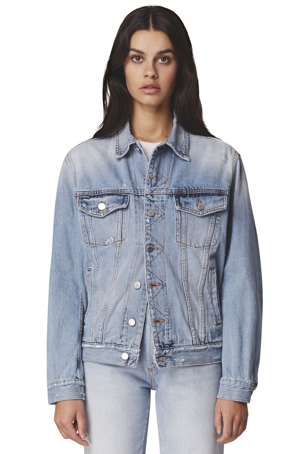 Nico Oversized Denim Jacket