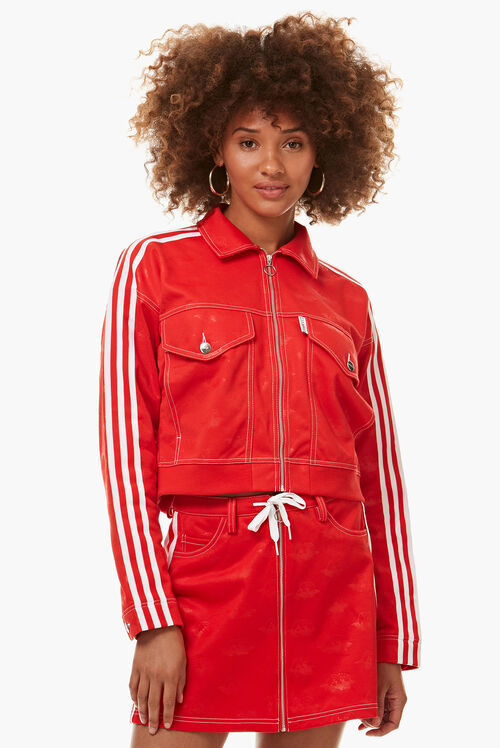 Adidas x Fiorucci Jacquard Angel Track Top Red