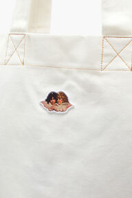 Icon Angels Tote Bag White