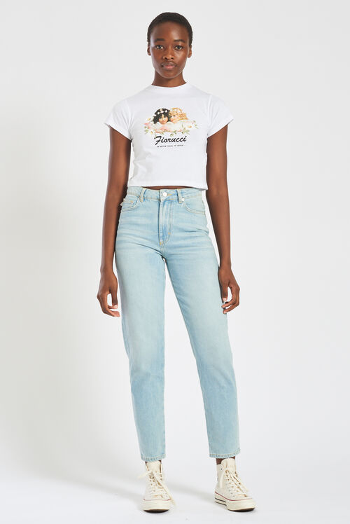 Daisy Angels Tara Tapered Jeans Blue