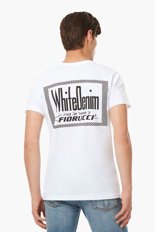 White Denim T-Shirt White