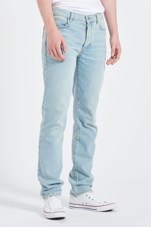 Angels Patch Rowan Slim Fit Jeans Blue
