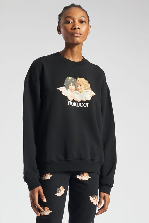 Angels Sweatshirt Black