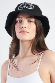 Commended Bucket Hat Black