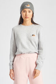 Icon Angels Knit Jumper Grey