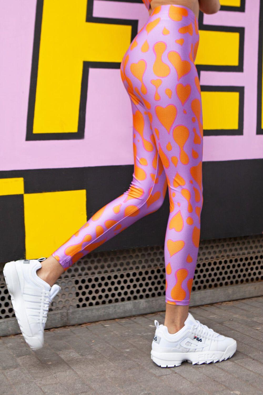 Tara Khorzad Lava Love Leggings Pink