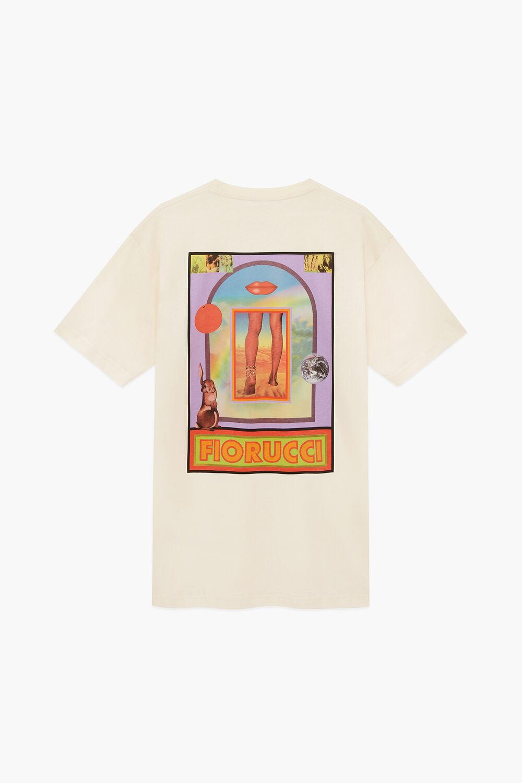 Fiorucci Desert T-Shirt Dress Cream