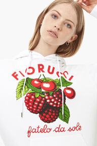 Fruits Hoodie White