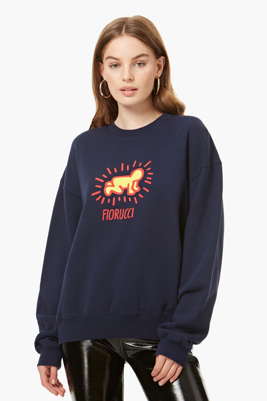 Keith Haring Radiant Baby Sweatshirt Navy