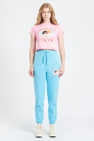 Snow Angels Crop T-Shirt Pink
