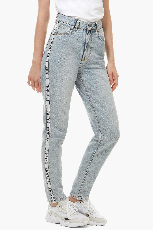 Tara Tapered Side Tape Jean