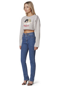 Vintage Angels Super Crop Sweatshirt