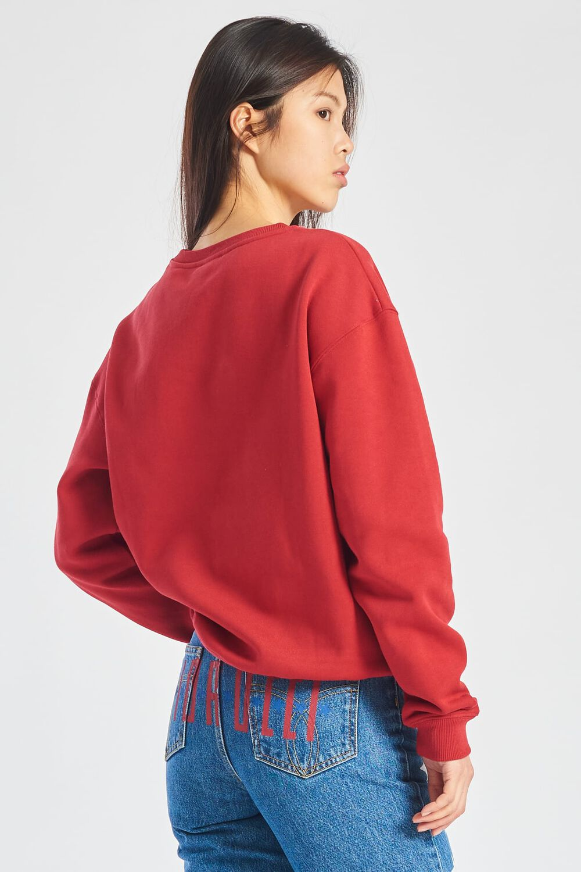 Rabbit Hug Sweatshirt Red