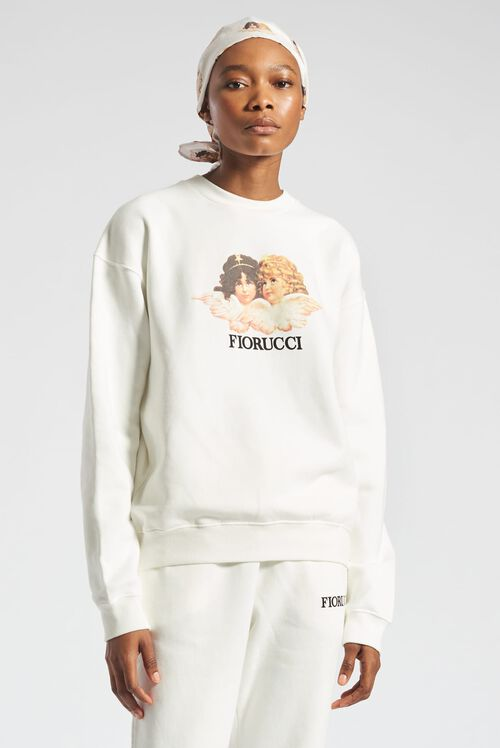 Angels Sweatshirt White
