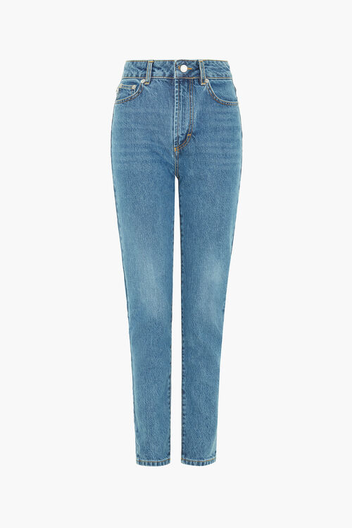 Tara Tapered Jeans Dark Blue