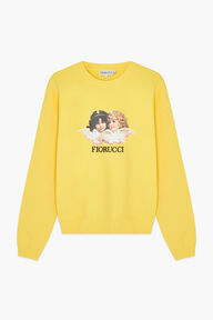 Angels Sweatshirt Yellow