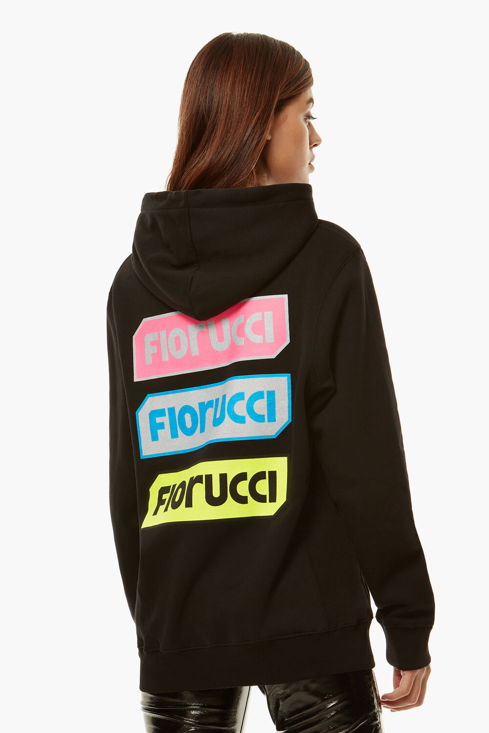 Archive Graphic Hoodie Black