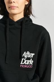 After Dark Logo Hoodie Black