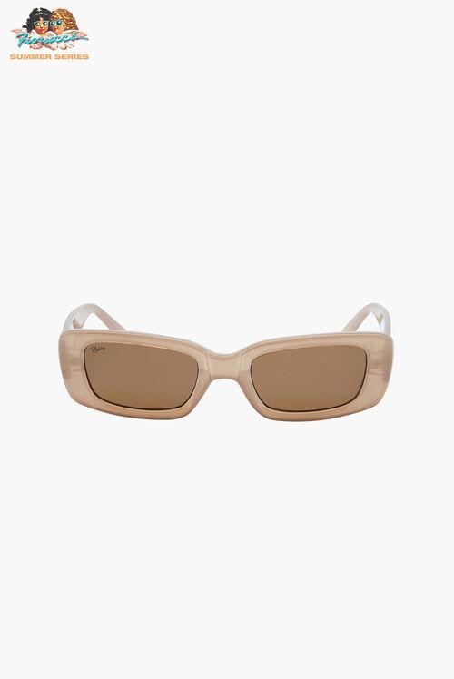 Reality Eyewear Bianca Nude Sunglasses