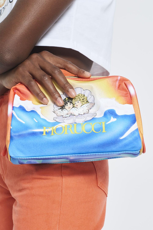 Cosmic Waters Wash Bag Orange