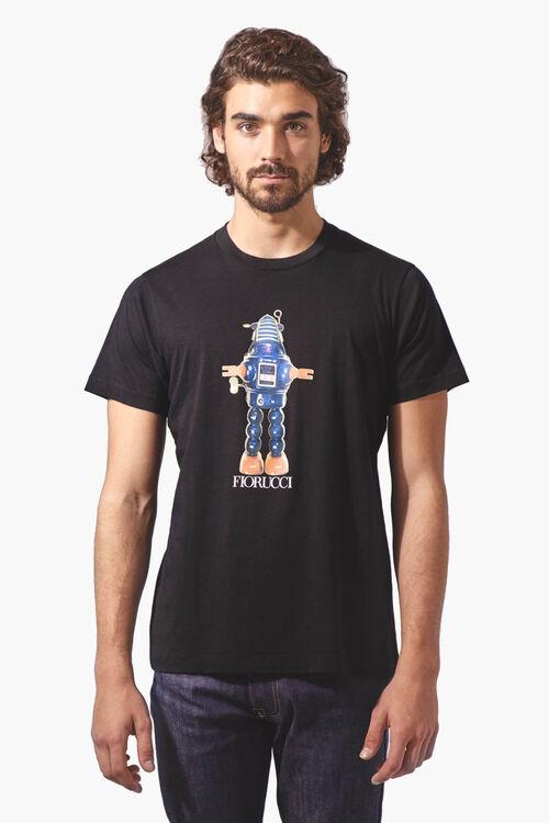 Robot Crew Neck T-Shirt