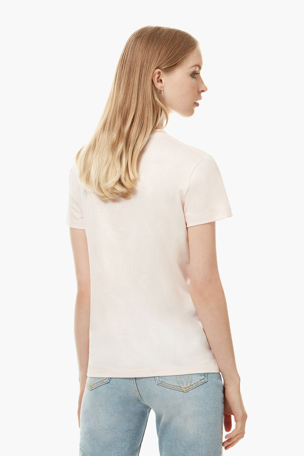 Icon Angels Patch T-Shirt Pale Pink