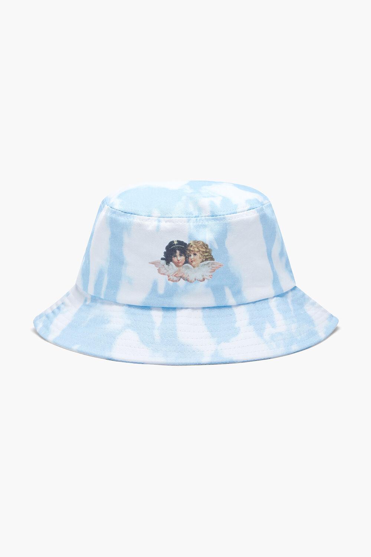 Tie Dye Bucket Hat Blue