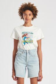 Princess Of The Sea Graphic T-Shirt White