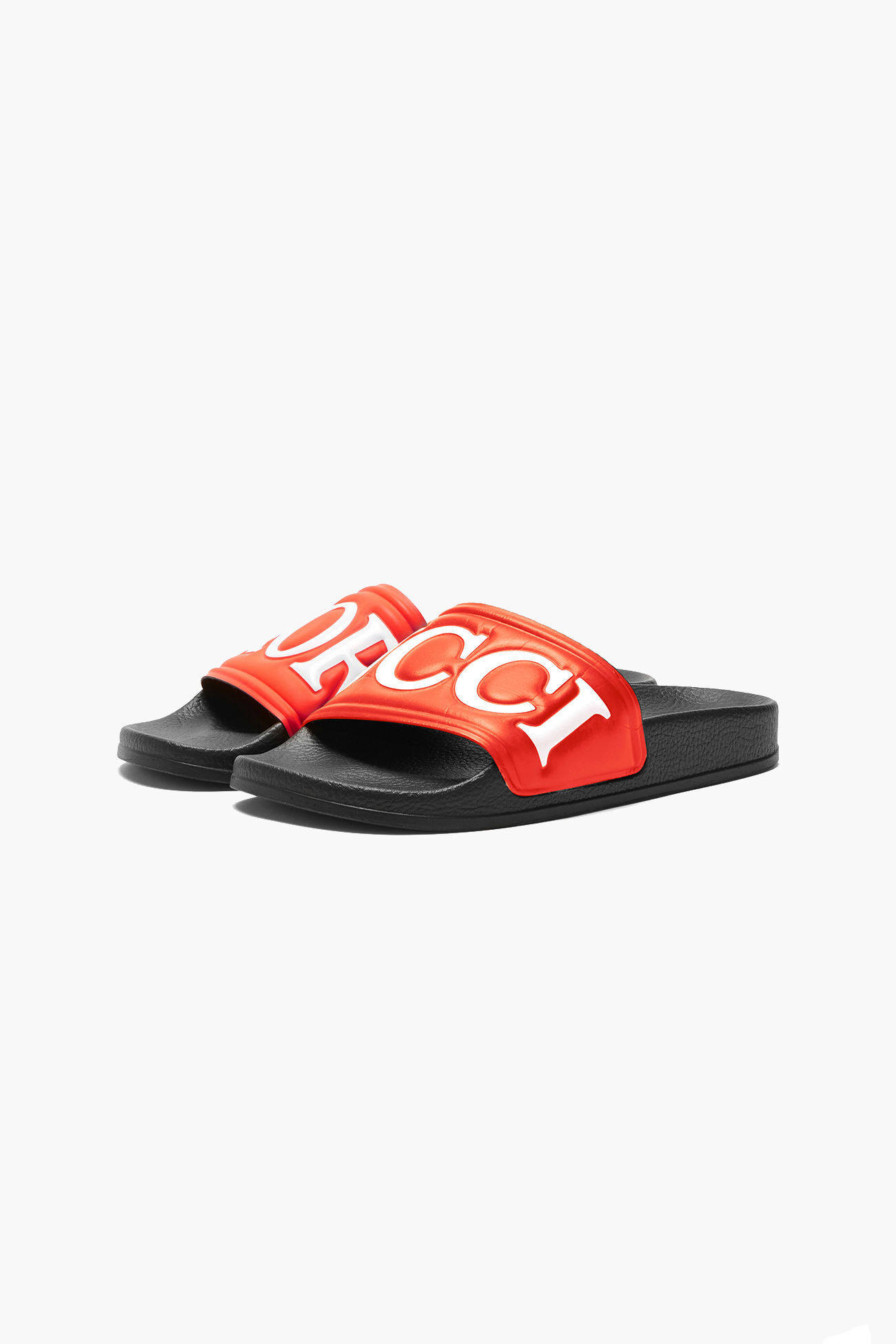 Logo Slides in Red. - size 36 (also in 37,38,39,40) Fiorucci