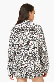 Adidas x Fiorucci Faces Print Jacket