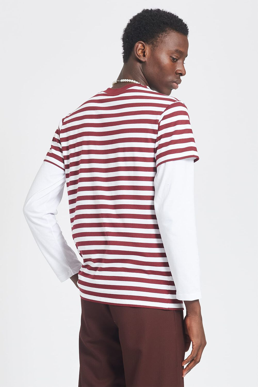Stripe Angels T-Shirt White