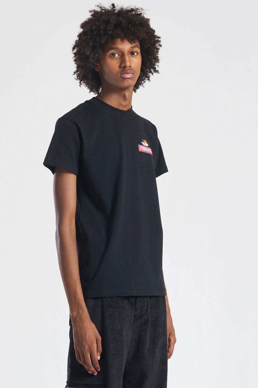 Angels Logo Patch T-Shirt Black