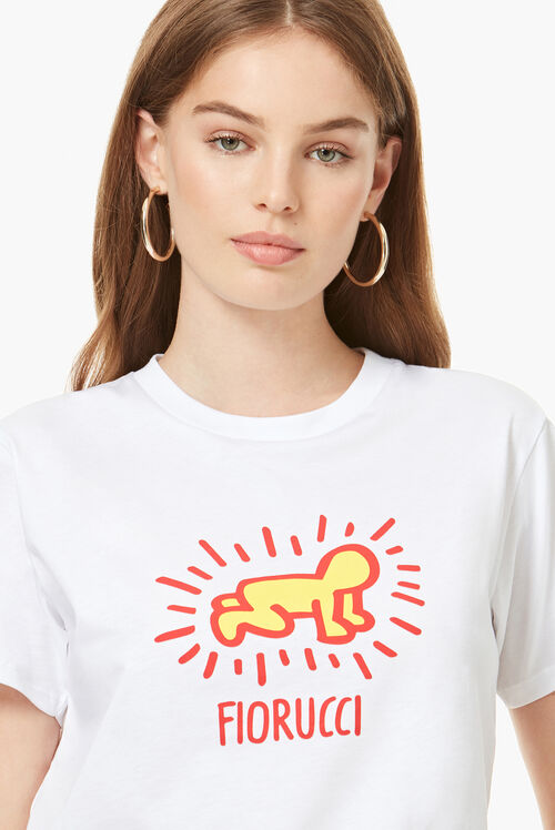 Keith Haring T-Shirt White