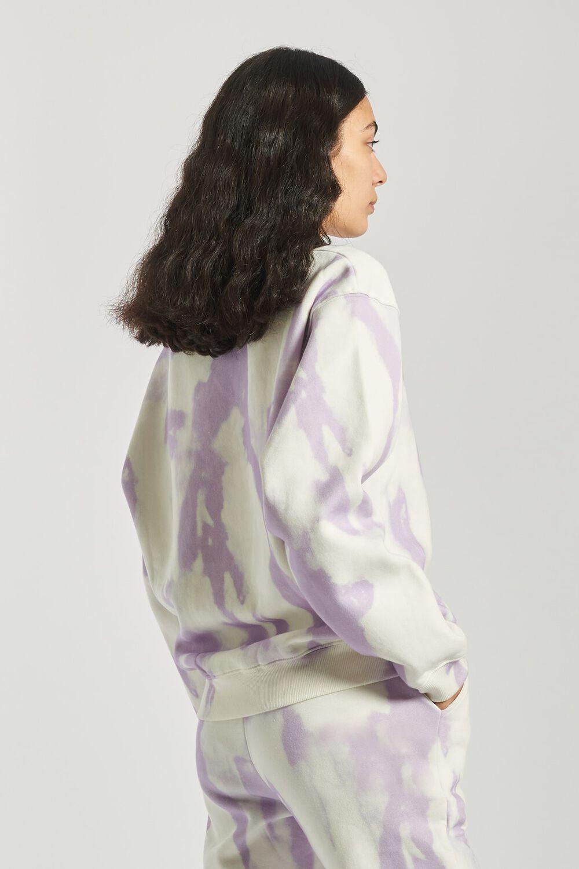 Angels Tie Dye Sweatshirt Lilac