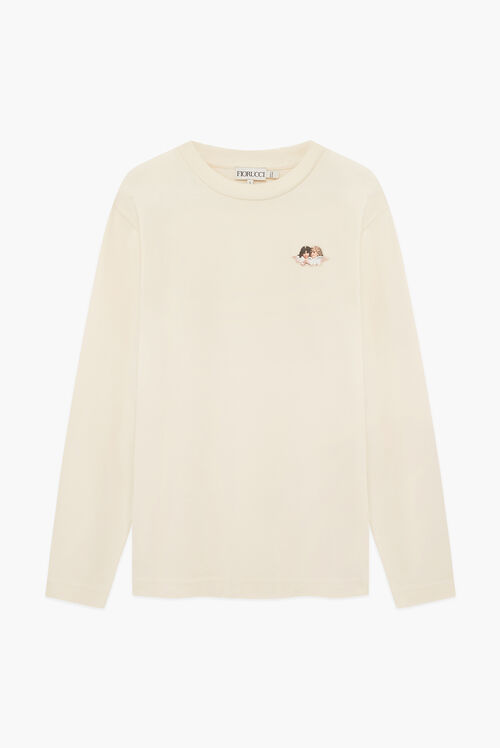 Icon Angels Long Sleeve T-Shirt Cream