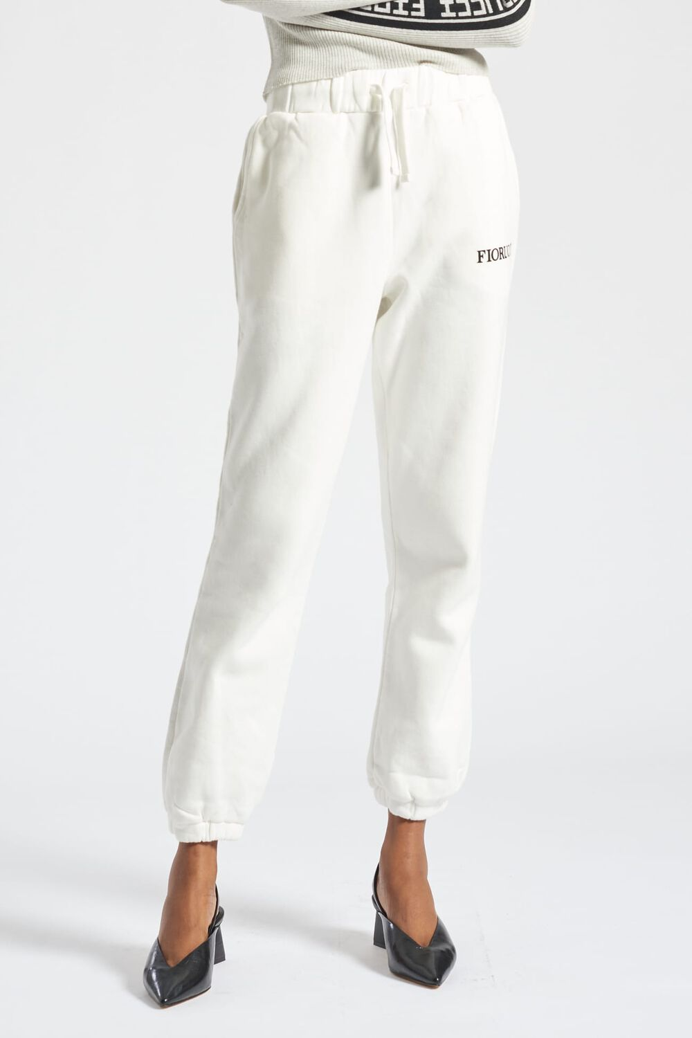 Angels Patch Jogger White
