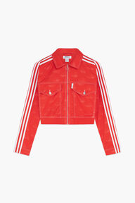 Adidas x Fiorucci Jacquard Angel Track Top Red