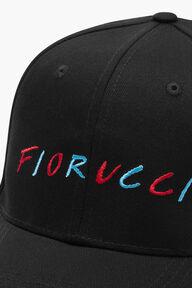 Fiorucci Multicoloured Logo Cap Black