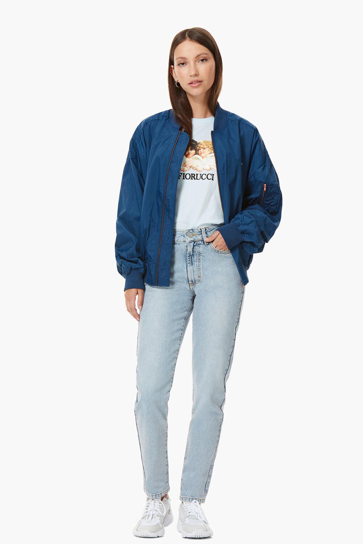 Lou Bomber Jacket Blue