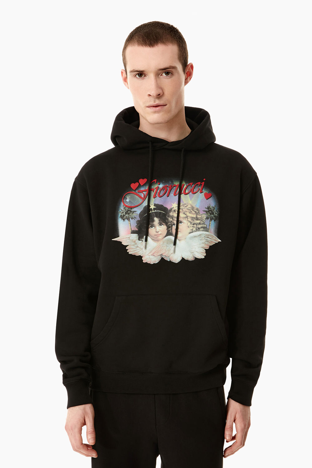 Hollywood Angels Hoodie Black