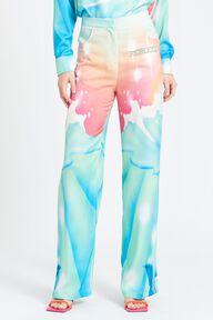 Cosmic Waters Printed Trouser Blue