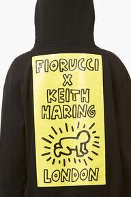 Keith Haring Hoodie Black