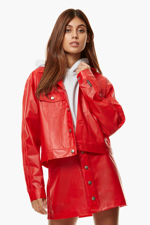Adidas x Fiorucci Kiss Jacket Red