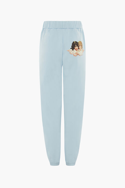 Angel Patch Jogger Pale Blue